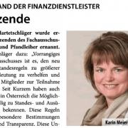 Pressemeldung Fachverband Finanzdienstleister